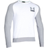 Under Armour Men's Tri-Blend Fleece Crew Sweatshirt - White: Image 1