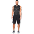 Under Armour Men's HeatGear CoolSwitch Compression Tank Top - Black/Grey: Image 3