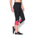 Under Armour Women's Fast Forward 2.0 Run Capri - Black/Pink: Image 3