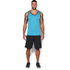 Under Armour Men's Tech Tank Top - Meridian Blue/Graphite: Image 3