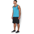 Under Armour Men's Tech Tank Top - Meridian Blue/Graphite: Image 4