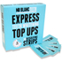Mr Blanc Express Teeth Whitening Strips 30 Strips: Image 1