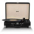 Akai Rechargeable Portable Briefcase Turntable with Built-In Speaker - Black: Image 2