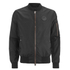 4Bidden Men's Radar Bomber Jacket - Black: Image 1
