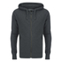 Smith & Jones Men's Palazzo Zip Through Hoody - Black Marl: Image 1