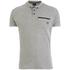 Smith & Jones Men's Mascaron Zip Pocket Polo Shirt - Mid Grey Marl: Image 1