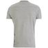 Smith & Jones Men's Mascaron Zip Pocket Polo Shirt - Mid Grey Marl: Image 2