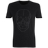Smith & Jones Men's Diastyle Skull T-Shirt - Black Nep: Image 1