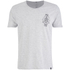 Smith & Jones Men's Maqsurah Back Print T-Shirt - Light Grey Marl: Image 1