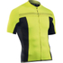Northwave Evolution Full Zip Short Sleeve Jersey - Black/Yellow Fluo: Image 1