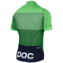 POC Fondo Light Short Sleeve Jersey - Pyrite Green: Image 2