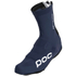 POC Aero TT Shoe Cover - Navy Black/Hydrogen White: Image 1