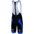 Castelli Velocissimo Bib Shorts - Black/Blue: Image 1