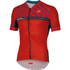 Castelli Scotta Short Sleeve Jersey - Red: Image 1