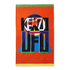 KENZO UFO Beach Towel - Orange: Image 1