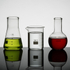 Lot de Verres Mini Flasques de Laboratoire (100ml): Image 1