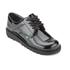 Kickers Women's Kick Lo Patent Lace Up Shoes - Black: Image 2
