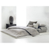 Calvin Klein Acacia Textured Fitted Sheet - Grey: Image 2