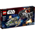 LEGO Star Wars: Vaders TIE Advanced vs. A-Wing Starfighter (75150): Image 1