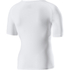 Look Active Short Sleeve Base Layer - White: Image 2