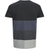 Jack & Jones Men's Core Dylan Block Stripe T-Shirt - Black: Image 2