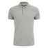Jack & Jones Men's Core Blast Fleck Polo Shirt - Light Grey Marl: Image 1