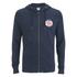 Jack & Jones Men's Originals Batch Sweat Zip Through Hoody - Navy Blazer: Image 1