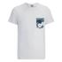 Jack & Jones Men's Originals Bobby Pocket Print T-Shirt - White: Image 1