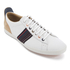 PS by Paul Smith Men's Osmo Leather Low Top Trainers - White Mono Lux: Image 2