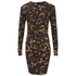 McQ Alexander McQueen Women's Long Sleeve Mini Dress - Tortoises: Image 1