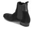 H Shoes by Hudson Men's Watts Suede Chelsea Boots - Black: Image 4