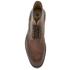 H Shoes by Hudson Men's Greenham Leather Brogue Lace Up Boots - Cognac: Image 3