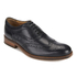 H Shoes by Hudson Men's Keating Leather Brogue Shoes - Black: Image 2