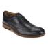 Hudson London Men's Keating Leather Brogue Shoes - Black: Image 2