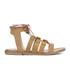 Dune Women's Lorelli Suede Gladiator Sandals - Tan: Image 1