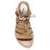 Dune Women's Lorelli Suede Gladiator Sandals - Tan: Image 3