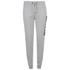 Soul Cal Men's Large Logo Cuffed Sweatpants - Grey Marl: Image 1