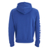 Soul Cal Men's Sleeve Print Logo Zip Through Hoody - Cobalt Blue: Image 2