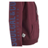 Soul Cal Men's Sleeve Print Logo Zip Through Hoody - Tawny Port: Image 4