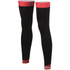 Santini BeHot Leg Warmers - Black/Red: Image 1