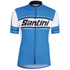Santini Tau Short Sleeve Jersey - Blue: Image 2