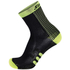 Santini Two Medium Profile Socks - Black/Yellow: Image 1