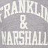 Franklin & Marshall Men's Large Logo T-Shirt - Sport Grey Melange: Image 3