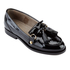 Hudson London Women's Britta Patent Tassle Loafers - Black: Image 2