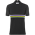 Santini UCI Polo Shirt - Black: Image 3