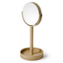 Wireworks Natural Oak Magnify Mirror: Image 1