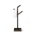 Wireworks Dark Oak Towel Rail Branch: Image 4