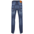 Jack & Jones Originals Men's Mike Straight Fit Jeans - Mid Wash: Image 2