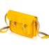 The Cambridge Satchel Company Women's 11 Inch Leather Satchel with Branded Hardware - Yellow: Image 2