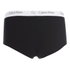 Calvin Klein Women's CK One Logo Shorty Briefs - Black: Image 2